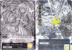 Alice, Girl of the Lake // Alice, Fairy Queen - TTW-001 // TTW-001J - UR - 1st Edition on Channel Fireball