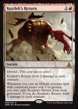 Kozileks Return - Foil