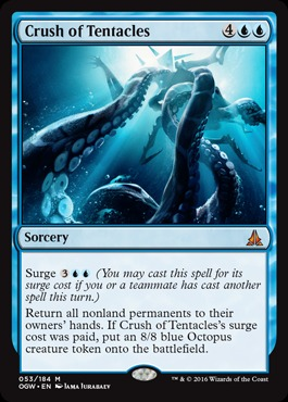 Crush of Tentacles - Foil