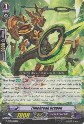 Timebreak Dragon - G-TD06/011EN - TD