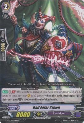 Bad Eater Clown - G-TD07/008EN - TD