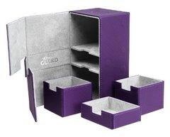 Ultimate Guard Flip Deck Case Twin Flip n Tray Xenoskin 200+ - Purple