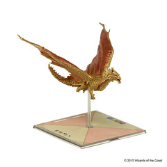 D&D Attack Wing: Ancient Brass Dragon