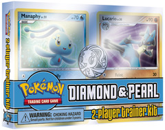 Diamond & Pearl Trainer Kit - Manaphy and Lucario