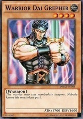 Warrior Dai Grepher - DEM2-EN008 - Common - Unlimited