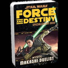 Star Wars:  Force and Destiny - Makashi Duelist