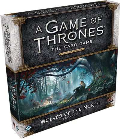 A Game of Thrones: The Card Game (Second Edition) – Wolves of the North (2016)