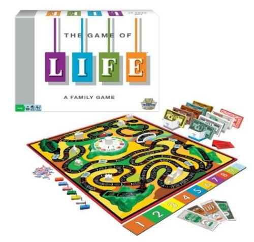 The Game of Life Classic Reproduction 1st Edition