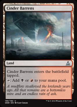 Cinder Barrens - Foil