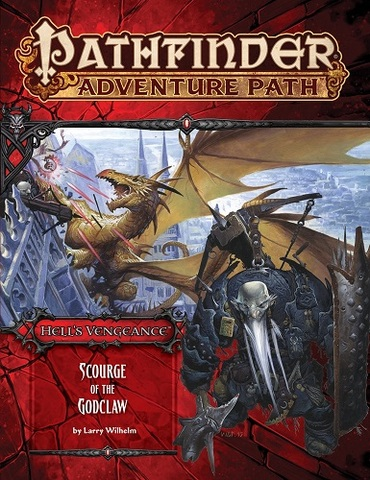 Pathfinder Adventure Path #107: Scourge of the Godclaw (Hells Vengeance 5 of 6)