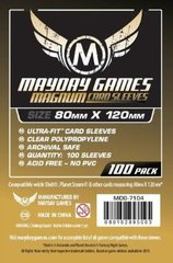 Mayday Games Magnum Gold Ultra-Fit Game Size Sleeves 100ct