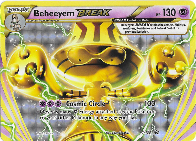 Beheeyem BREAK - XY135 - BREAK Evolution Box