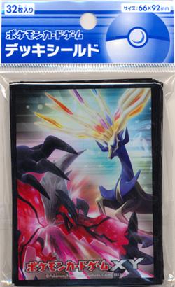 Japanese Pokemon XY Xerneas Yveltal Sleeves 32ct
