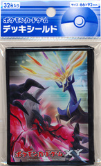 Japanese Pokemon XY Xerneas Yveltal Sleeves 32ct