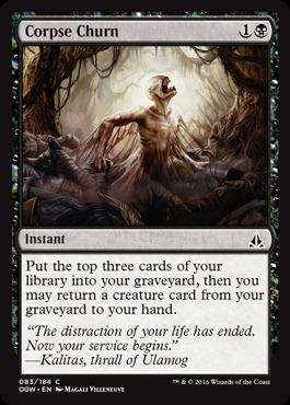 Corpse Churn - Foil