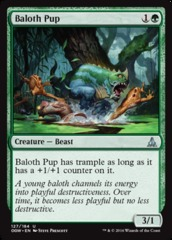 Baloth Pup on Channel Fireball