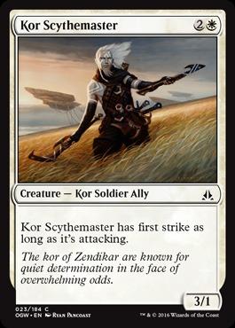 Kor Scythemaster - Foil