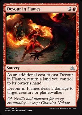 Devour in Flames - Foil