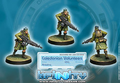 Infinity Ariadna: Caledonian Volunteers - HMG (280160-0405)