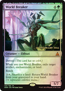 World Breaker - Foil - Prerelease Promo