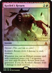 Kozilek's Return - Foil - Prerelease Promo