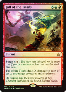 Fall of the Titans (Oath of the Gatewatch Prerelease Foil)