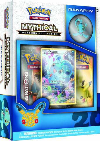 Mythical Pokemon Collection: Manaphy Box