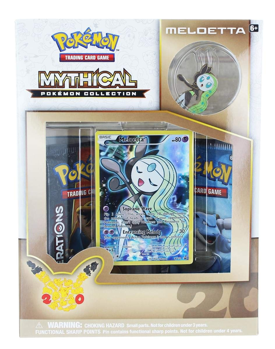 Mythical Pokemon Collection: Meloetta
