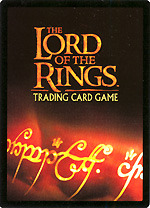 Black Rider Cards Complete Set LOTR