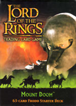Lord Of The Rings Card Game Mount Doom Frodo Starter Deck