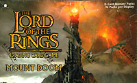 The Lord of the Rings Card Game Mount Doom Booster Box