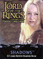 Shadows Eowyn Starter Deck Lord of the Rings Card Game