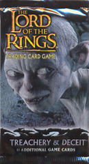 Lord of the Rings Trading Card Game TCG: Treachery & Deceit Booster Pack