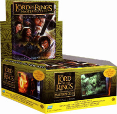 Topps Lord of the Rings Masterpieces II Trading Card Hobby Box