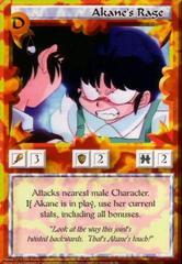 Akane's Rage