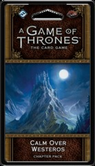 A Game of Thrones: The Card Game (2nd Edition) Chapter Pack - Calm over Westeros