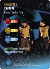 Klingon Landing Party