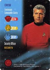 Lieutenant Commander Giotto