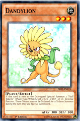 Dandylion - SR01-EN018 - Common - 1st Edition on Channel Fireball