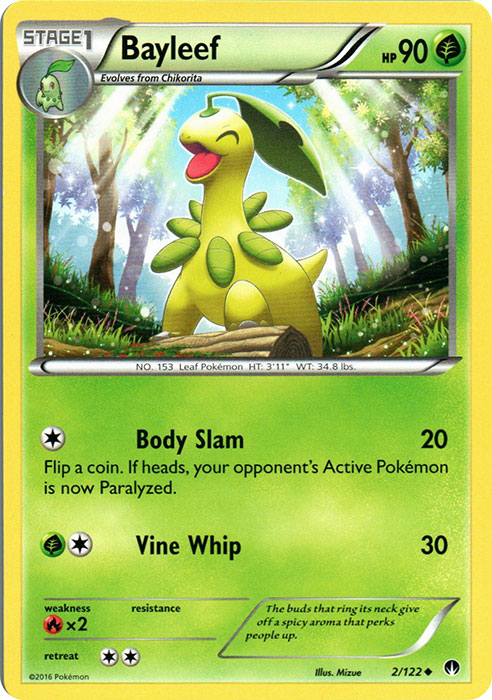 Bayleef - 2/122 - Uncommon