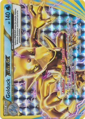Golduck-Break - 18/122 - Rare Break