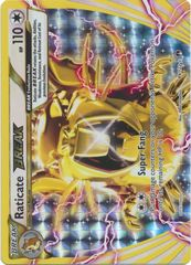 Raticate-Break - 89/122 - Rare Break