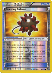 Bursting Balloon - 97/122 - Uncommon - Reverse Holo