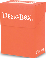 Ultra Pro Peach Deck Box