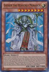 Ehther the Heavenly Monarch - SR01-EN000 - Ultra Rare - Unlimited Edition
