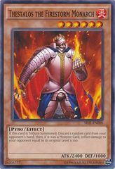 Thestalos the Firestorm Monarch - SR01-EN008 - Common - Unlimited Edition