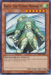 Raiza the Storm Monarch - SR01-EN009 - Common - Unlimited Edition