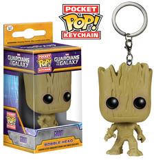 Funko Pocket POP Keychain: GOTG - Groot Keychain