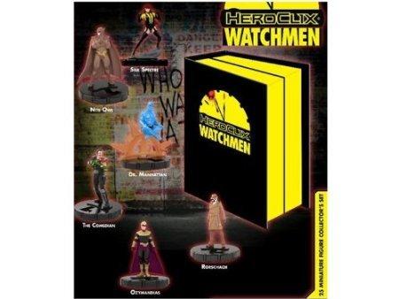 DC Heroclix Watchmen Deluxe Collectors Set Includes 25 Figures