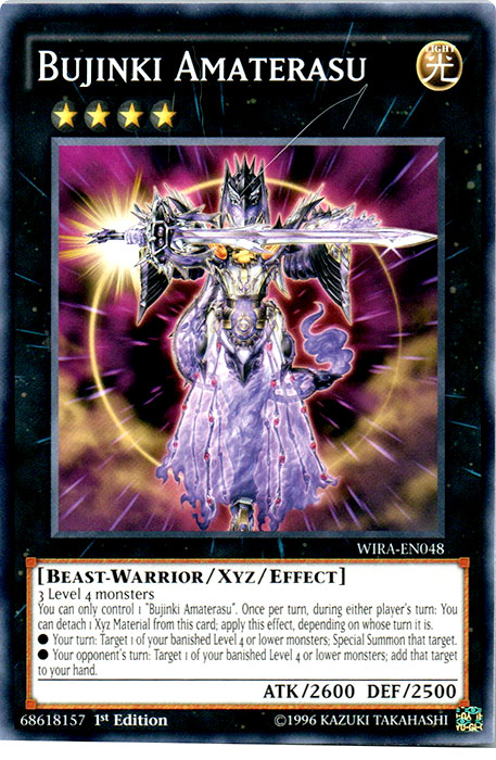 Bujinki Amaterasu - WIRA-EN048 - Common - 1st Edition